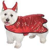 Zack & Zoey Sequin Devil Dog Costume, Large