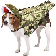 Zack & Zoey Camo Alligator Dog Costume, X-Small
