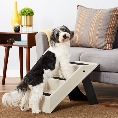 Miraculous Etna Collapsible Dog Cat Stairs Gray Black Gmtry Best Dining Table And Chair Ideas Images Gmtryco