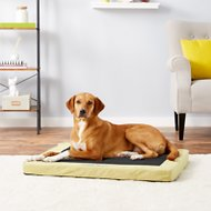 K&H Pet Products Comfy N' Dry Indoor & Outdoor Dog & Cat Bed, Medium, Lime Green