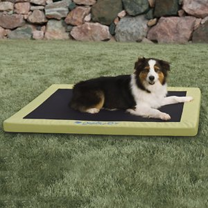 K&H Pet Products Comfy N' Dry Indoor & Outdoor Pillow Dog Bed