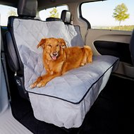 K&H Pet Products Quilted Car Seat Cover, Extra-Long, Gray