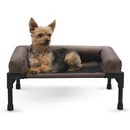 K&H Pet Products Original Bolster Dog & Cat Cot, Small, Chocolate