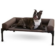 K&H Pet Products Original Bolster Dog & Cat Cot, Medium, Chocolate