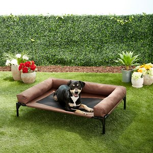 K&H Pet Products Original Bolster Elevated Dog Bed