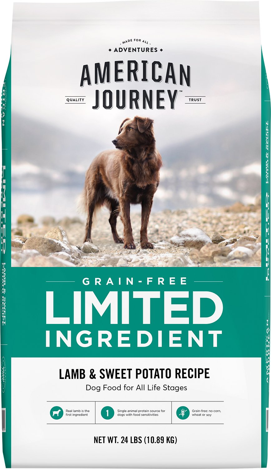 American Journey Limited Ingredient Grain-Free Lamb  | Dog Food Allergies Grain Free