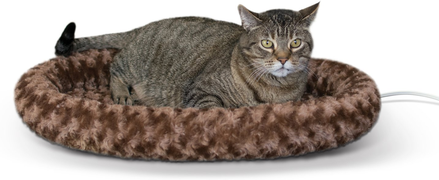 K Amp H Pet Products Thermo Kitty Fashion Splash Heated Cat