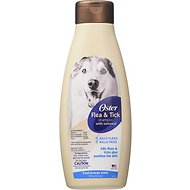 Oster Flea & Tick Dog & Cat Shampoo, Fresh Breeze, 18-oz bottle