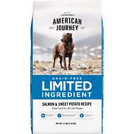 American Journey Limited Ingredient Grain-Free Salmon & Sweet Potato Recipe Dry Dog Food, 12-lb bag