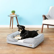 K&H Pet Products Pillow-Top Orthopedic Lounger Dog & Cat Bed, Medium, Gray