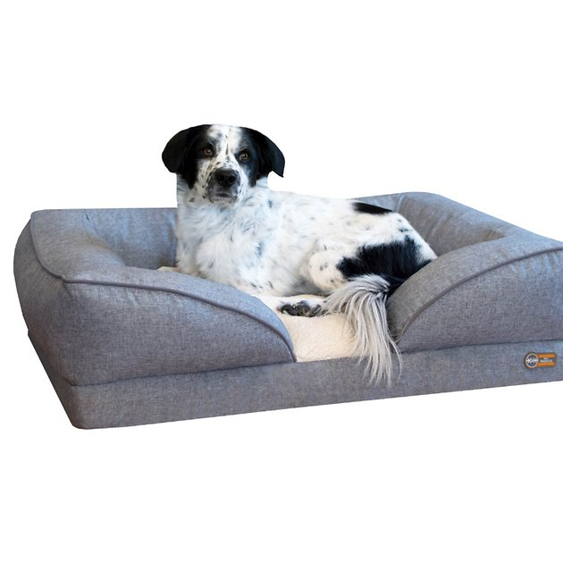 K Amp H Pet Products Pillow Top Orthopedic Lounger Dog Amp Cat