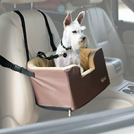 K&H Pet Products Hangin' Bucket Booster Small Breed Dog Seat, Tan