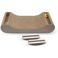 K&H Pet Products Kitty Tippy Scratch n' Track Cardboard Scratcher Interactive Cat Toy, Scratch n' Track