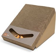 K&H Pet Products Scratch, Ramp & Track Cardboard Scratcher Interactive Cat Toy, Scratch, Ramp & Track