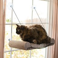 K&H Pet Products EZ Mount Window Scratcher Kitty Sill, Tan