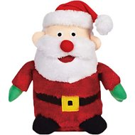 Zanies Holiday Friends Santa Dog Toy