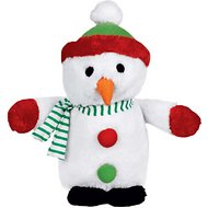 Zanies Holiday Friends Snowman Dog Toy