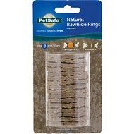 PetSafe Sportsmen Rawhide Rings Dog Treats, Medium