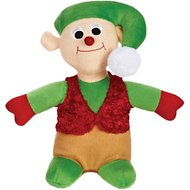 Zanies Holiday Friends Elf Dog Toy
