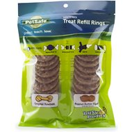 Busy Buddy Peanut Butter & Rawhide Variety Pack Refill Rings Dog Treat, Medium