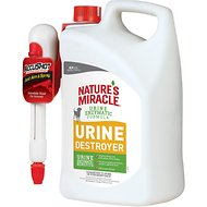 Nature's Miracle Dog Urine Destroyer Accushot Spray, 1.3-gal bottle