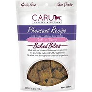 Caru Soft 'n Tasty Baked Bites Pheasant Recipe Grain- Free Dog Treats, 4-oz bag