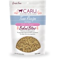 Caru Soft 'n Tasty Baked Bites Tuna Recipe Grain-Free Cat Treats, 3-oz bag
