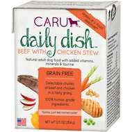 Caru Daily Dish Beef with Chicken Stew Grain-Free Wet Dog Food, 12.5-oz, case of 12