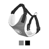 American Kennel Club 2 in 1 Dog Harness, Gray, X-Small/Small