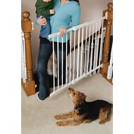 KidCo Angle Mount Safeway Pet Gate, White