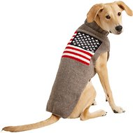 Chilly Dog American Flag Dog & Cat Sweater, X-Large