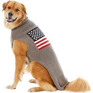 Chilly Dog American Flag Dog & Cat Sweater, 3X-Large