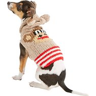 Chilly Dog Monkey Hoodie Dog & Cat Sweater, XX-Small