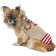 Chilly Dog Monkey Hoodie Dog & Cat Sweater, X-Small