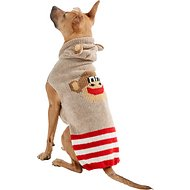 Chilly Dog Monkey Hoodie Dog & Cat Sweater, X-Large