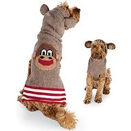Chilly Dog Monkey Hoodie Dog & Cat Sweater, XX-Large