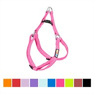Pawtitas Step-In Reflective Dog Harness, Pink, X-Small