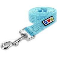 Pawtitas Reflective Dog Leash, Teal, 6-ft, X-Small/Small