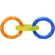 Nerf Dog Tuff Tug 3 Ring Dog Toy, Large