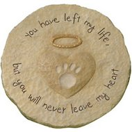Grasslands Road Dog & Cat Paw Print Stepping Stone