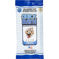 International Veterinary Sciences Quick Bath Large Breed Dog Wipes, 5-count