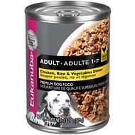 Eukanuba Adult Chicken, Rice & Vegetables Dinner Formula Canned Dog Food, 13.2-oz, case of 12