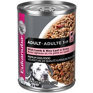 Eukanuba Adult Lamb & Rice Formula Canned Dog Food, 13.2-oz, case of 12