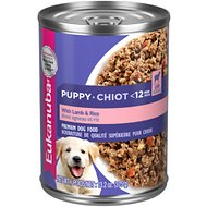Eukanuba Puppy Lamb & Rice Formula Canned Dog Food, 13.2-oz, case of 12