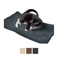 Easyology Thermal Warming Dog & Cat Bed, X-Large, Gray Suede
