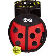 Hyper Pet Firehose Flyers Ladybug Dog Toy