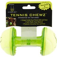 Hyper Pet Tennis Chewz Barbell Dog Toy