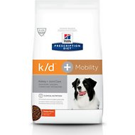 Hill's Prescription Diet K/D Kidney Care + Mobility Care with Chicken Dry Dog Food, 17.6-lb bag