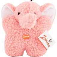 Zanies Cuddly Berber Baby Elephant Dog Toy
