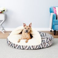 Snoozer Pet Products Orthopedic Microsuede Cozy Cave Dog & Cat Bed, X-Large, Tempest Indigo
